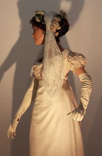 Mariage en mode Empire